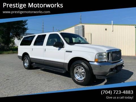 2002 Ford Excursion for sale at Prestige Motorworks in Concord NC