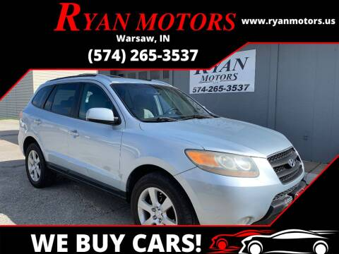 2007 Hyundai Santa Fe for sale at Ryan Motors LLC in Warsaw IN