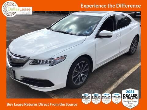 2017 Acura TLX for sale at Dallas Auto Finance in Dallas TX