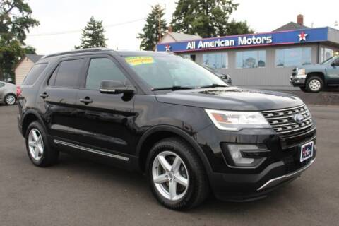 2017 Ford Explorer for sale at All American Motors in Tacoma WA