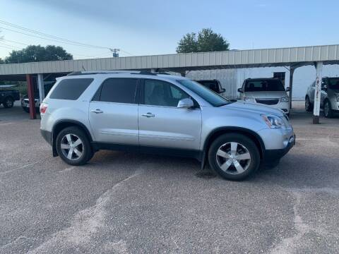 2011 GMC Acadia for sale at Faw Motor Co in Cambridge NE