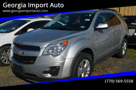 2012 Chevrolet Equinox for sale at Georgia Import Auto in Alpharetta GA