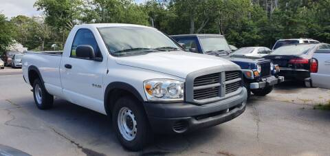 2008 Dodge Ram Pickup 1500 for sale at MBM Auto Sales and Service - Lot A in East Sandwich MA