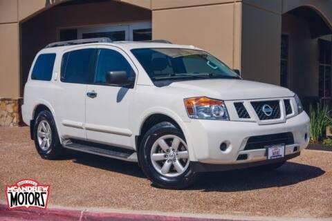 2015 Nissan Armada for sale at Mcandrew Motors in Arlington TX
