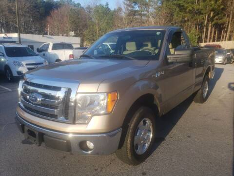 2011 Ford F-150 for sale at Credit Cars LLC in Lawrenceville GA