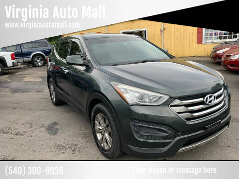 2014 Hyundai Santa Fe Sport for sale at Virginia Auto Mall in Woodford VA