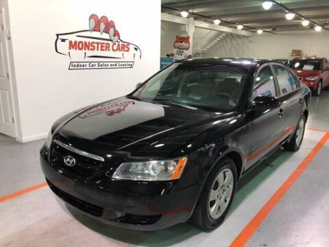 2007 Hyundai Sonata for sale at Monster Cars in Pompano Beach FL