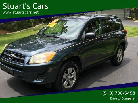 2010 Toyota RAV4 for sale at Stuart's Cars in Cincinnati OH