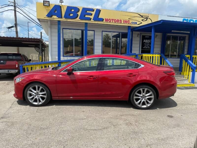 2017 Mazda MAZDA6 for sale at Abel Motors, Inc. in Conroe TX