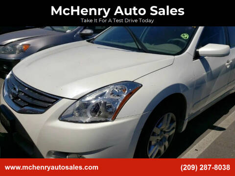 2012 Nissan Altima for sale at MCHENRY AUTO SALES in Modesto CA