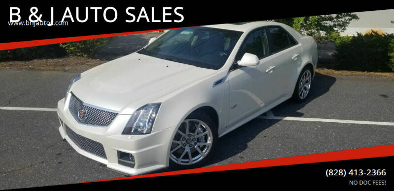2009 Cadillac CTS-V for sale at B & J AUTO SALES in Morganton NC