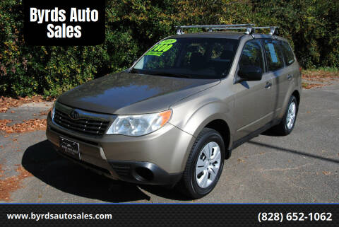 2009 Subaru Forester for sale at Byrds Auto Sales in Marion NC