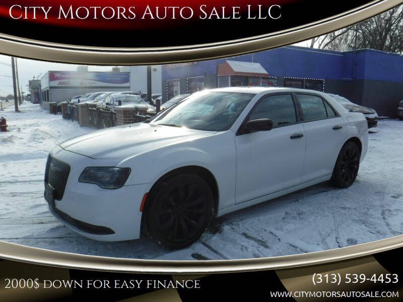 2016 Chrysler 300 for sale at City Motors Auto Sale LLC in Redford MI