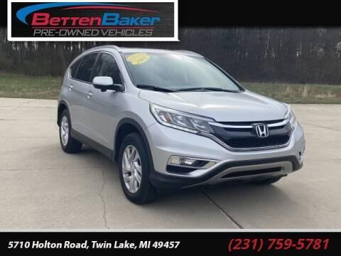2015 Honda CR-V for sale at Betten Baker Preowned Center in Twin Lake MI