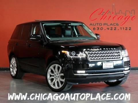 2015 Land Rover Range Rover for sale at Chicago Auto Place in Bensenville IL