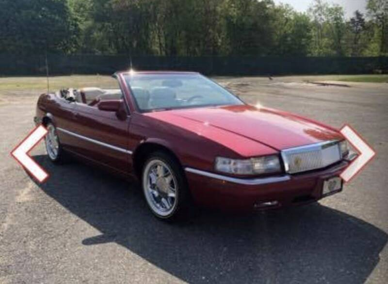 2001 Cadillac Eldorado for sale at All City Auto Group in Staten Island NY