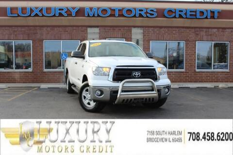 2012 Toyota Tundra for sale at Luxury Motors Credit Inc in Bridgeview IL