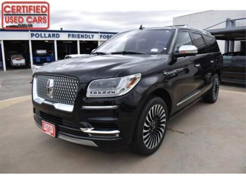 2019 Lincoln Navigator L for sale at South Plains Autoplex by RANDY BUCHANAN in Lubbock TX
