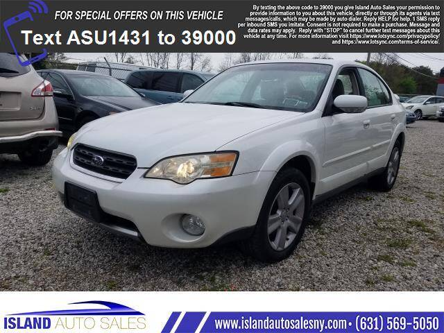 2006 Subaru Outback for sale at Island Auto Sales in E.Patchogue NY