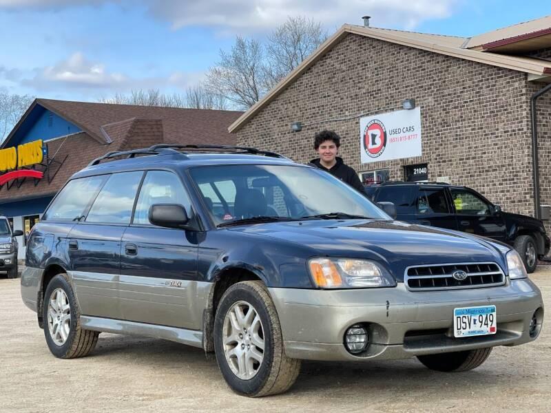 2000 Subaru Outback for sale at Big Man Motors in Farmington MN