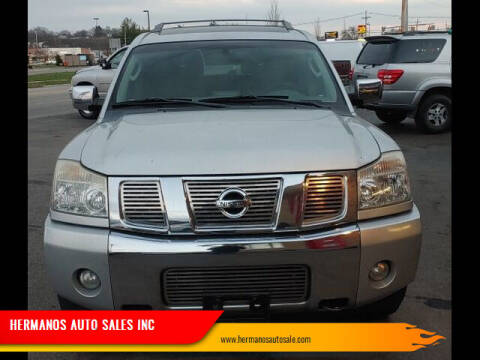2004 Nissan Armada for sale at HERMANOS AUTO SALES INC in Hamilton OH