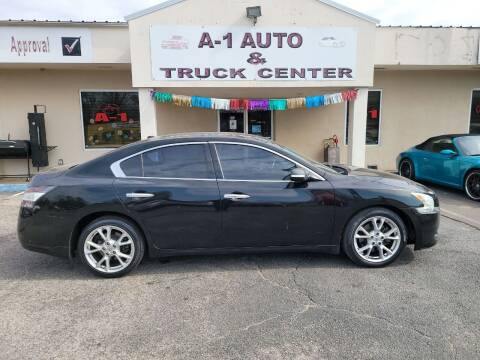 2012 Nissan Maxima for sale at A-1 AUTO AND TRUCK CENTER in Memphis TN