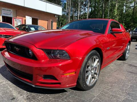 2013 Ford Mustang for sale at Magic Motors Inc. in Snellville GA