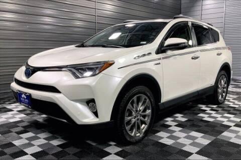 2016 Toyota RAV4 Hybrid for sale at TRUST AUTO in Sykesville MD