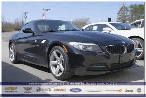 2012 BMW Z4 for sale at WHITE MOTORS INC in Roanoke Rapids NC