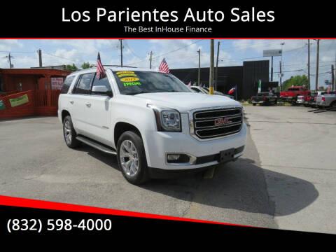 2015 GMC Yukon for sale at Los Parientes Auto Sales in Houston TX