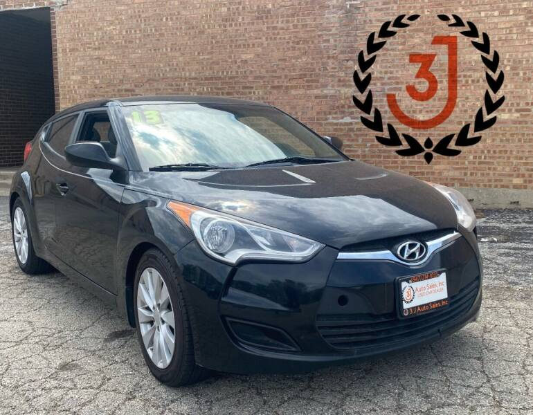2013 Hyundai Veloster for sale at 3 J Auto Sales Inc in Arlington Heights IL