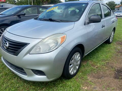 2012 Nissan Versa for sale at Unique Motor Sport Sales in Kissimmee FL