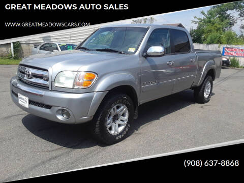 2004 Toyota Tundra for sale at GREAT MEADOWS AUTO SALES in Great Meadows NJ