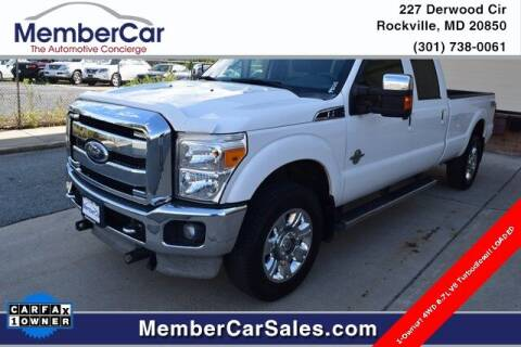 2012 Ford F-350 Super Duty for sale at MemberCar in Rockville MD