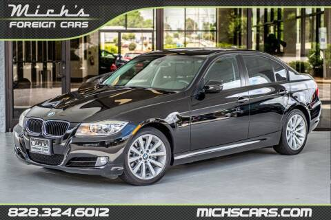 2011 BMW 3 Series for sale at Mich's Foreign Cars in Hickory NC