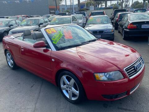 2004 Audi A4 for sale at North County Auto in Oceanside CA