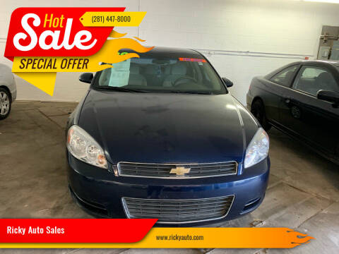 2008 Chevrolet Impala for sale at Ricky Auto Sales in Houston TX
