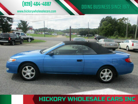 2003 Toyota Camry Solara for sale at Hickory Wholesale Cars Inc in Newton NC