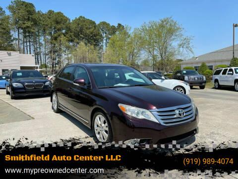 2012 Toyota Avalon for sale at Smithfield Auto Center LLC in Smithfield NC