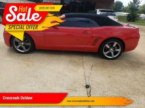2012 Chevrolet Camaro for sale at Crossroads Outdoor in Corinth MS