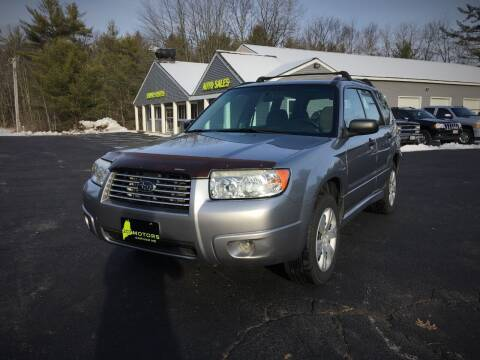 2008 Subaru Forester for sale at 207 Motors in Gorham ME