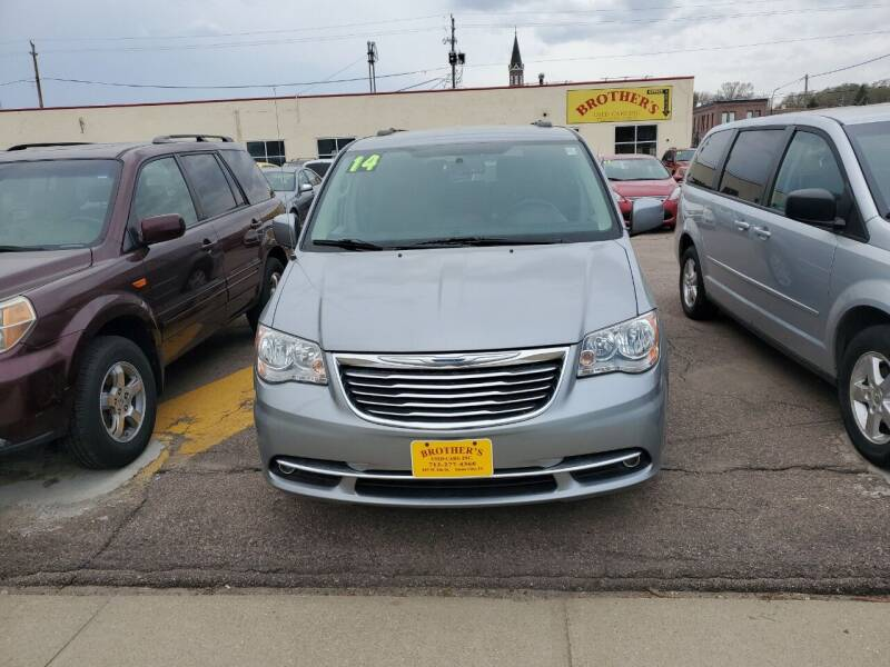 2014 Chrysler Town and Country for sale at Brothers Used Cars Inc in Sioux City IA