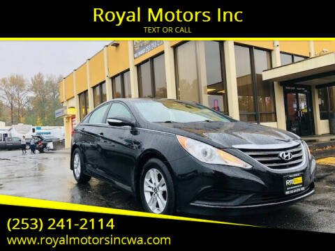 2014 Hyundai Sonata for sale at Royal Motors Inc in Kent WA