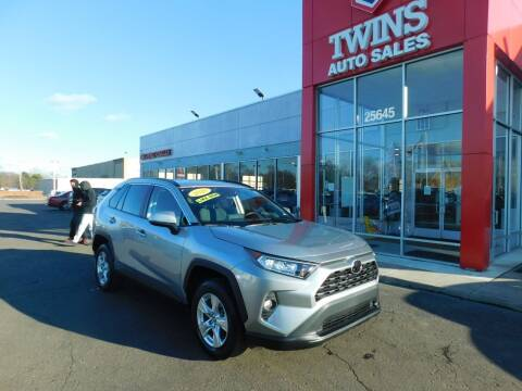 2020 Toyota RAV4 for sale at Twins Auto Sales Inc Redford 1 in Redford MI