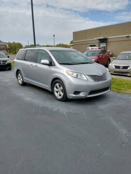 2015 Toyota Sienna for sale at McCully's Automotive in Benton KY