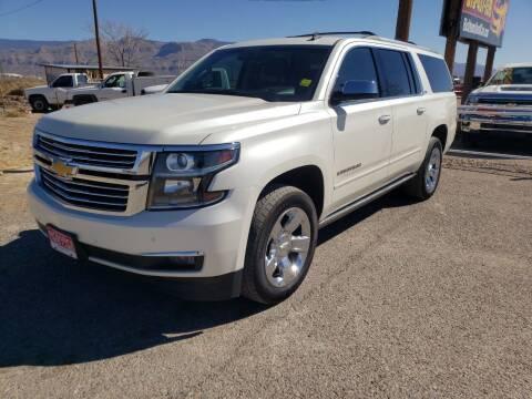 2015 Chevrolet Suburban for sale at Bickham Used Cars in Alamogordo NM