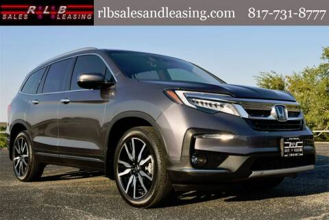 2020 Honda Pilot for sale at RLB Sales and Leasing in Fort Worth TX