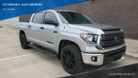 2019 Toyota Tundra for sale at AFFORDABLE AUTO BROKERS in Keller TX