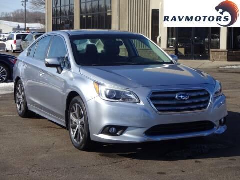 2016 Subaru Legacy for sale at RAVMOTORS 2 in Crystal MN