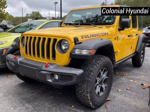 2021 Jeep Wrangler Unlimited for sale at Colonial Hyundai in Downingtown PA